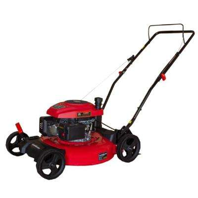21 in. 161 cc Gas 2-in-1 Walk Behind Push Lawn Mower
