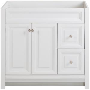 Brinkhill 36 in. W x 34 in. H x 22 in. D Bath Vanity Cabinet Only in White