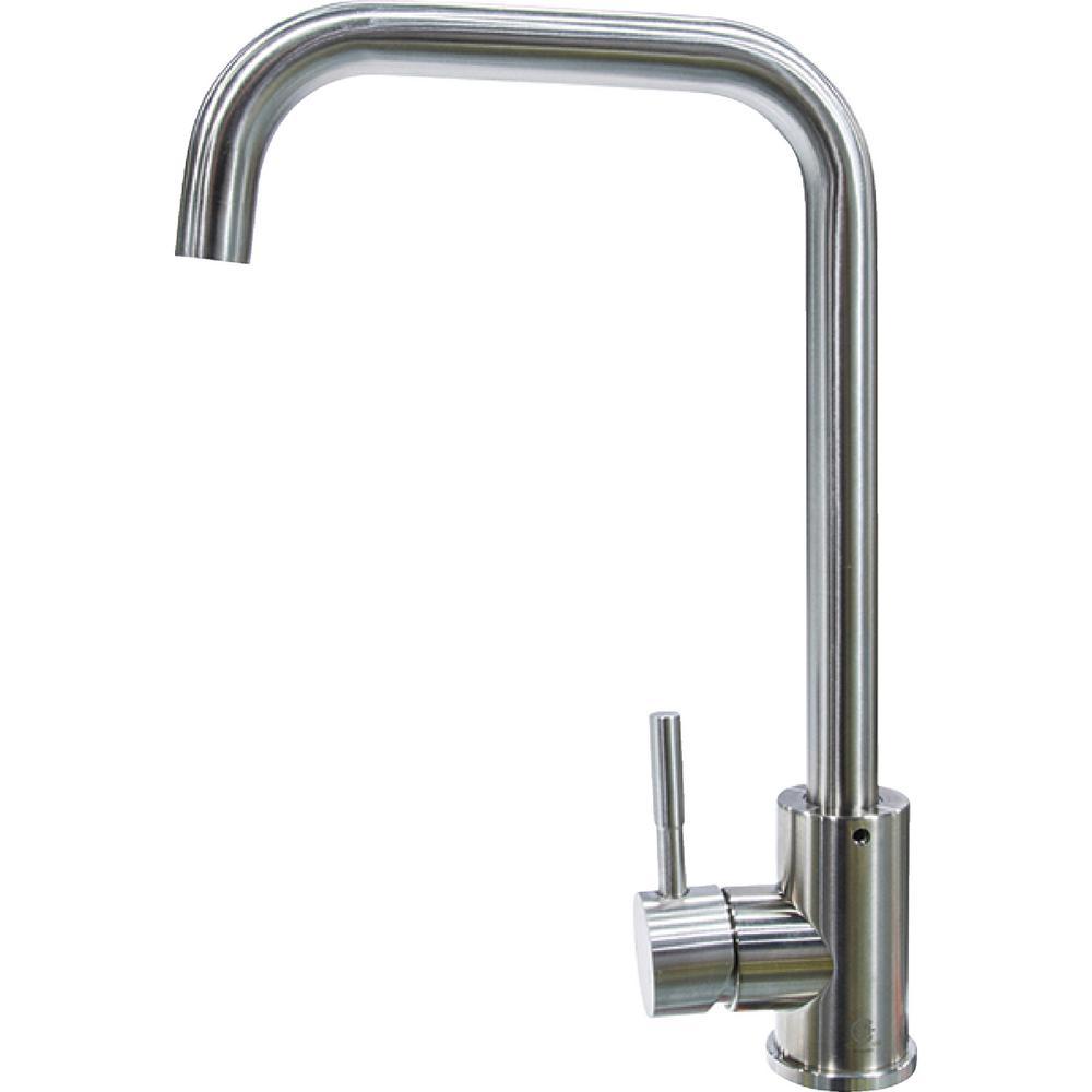 Lippert Flow Max RV Kitchen Faucet   Square Gooseneck Shaped