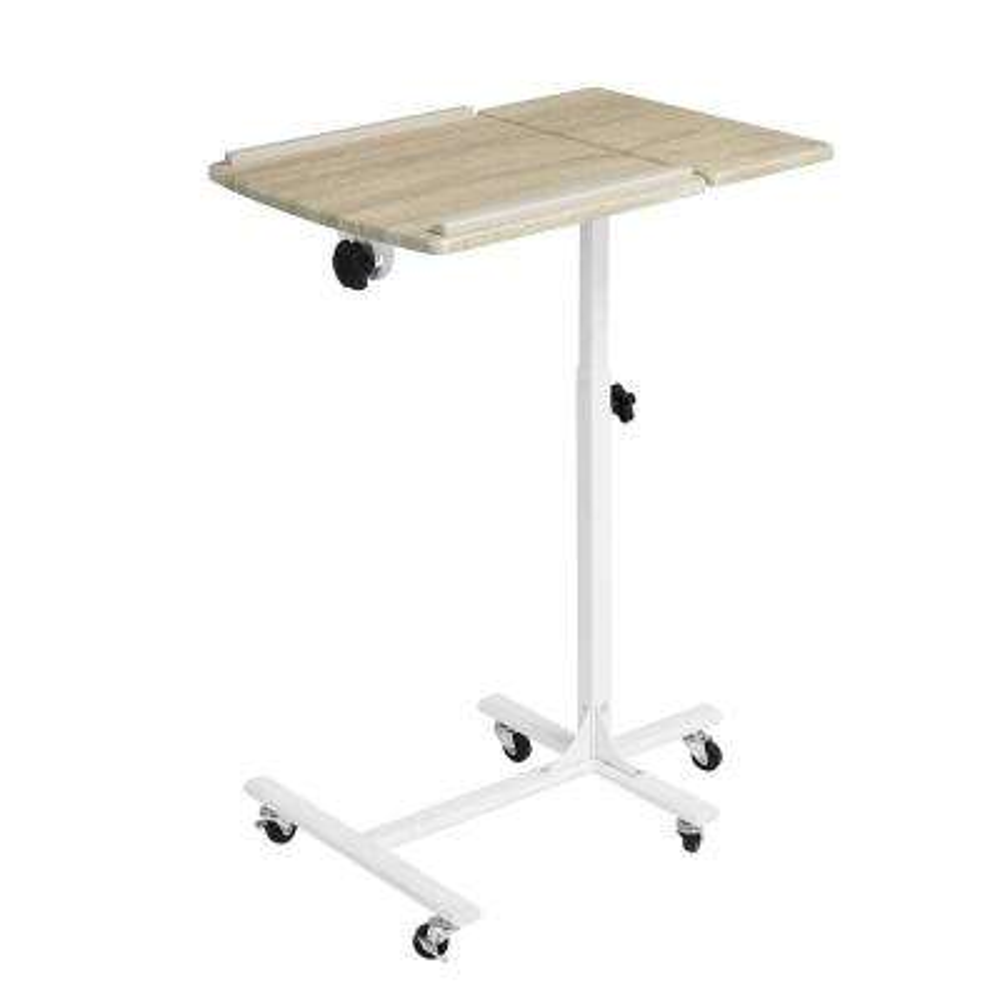 Amalthea Beech White Color Movable Writing Desk