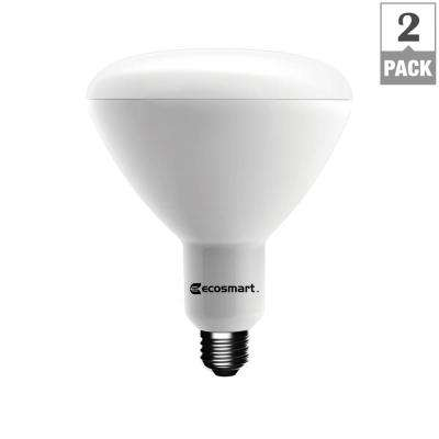 90W Equivalent Daylight BR40 Dimmable LED Light Bulb (2-Pack)