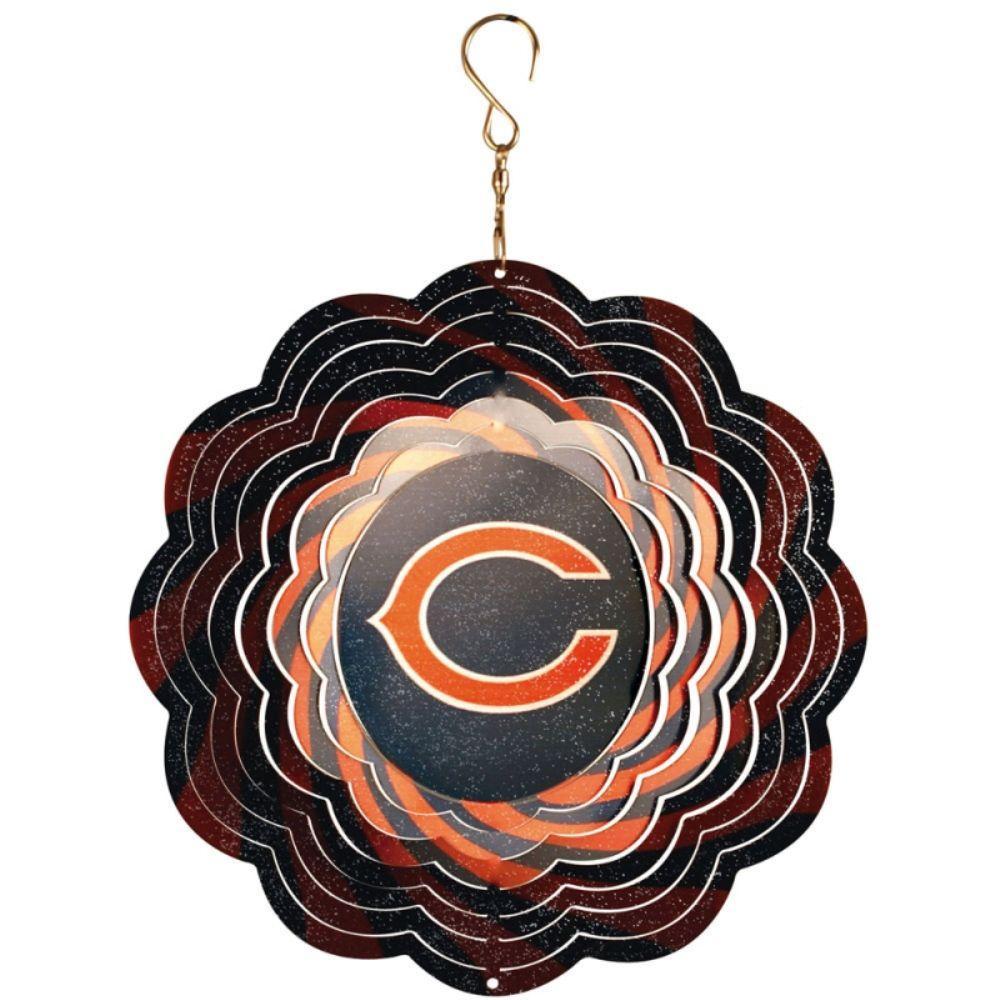 NFL 10 in. Chicago Bears Geo Spinner