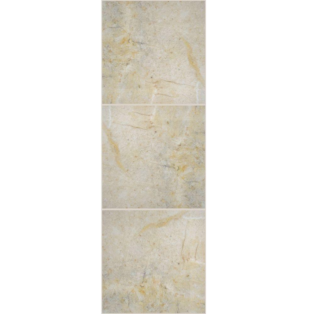 TrafficMASTER Allure 12 in. x 36 in. Corfu Luxury Vinyl Tile Flooring (24 sq. ft. / case)