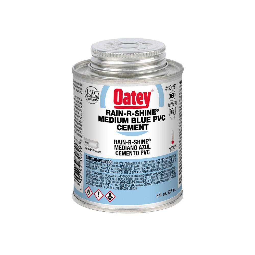 Oatey Rain-R-Shine 8 oz. PVC Cement