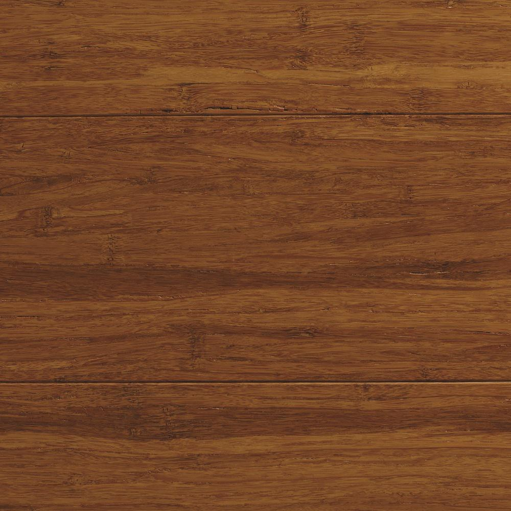 Home Decorators Collection Strand Woven Antiqued Harvest 3/8 in. T x 5-1/8 in. W x 72 in. L Engineered Click Bamboo Flooring