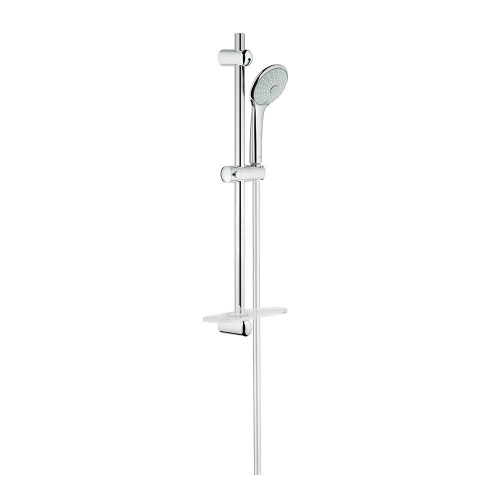 Euphoria 3-Spray Hand Shower in StarLight Chrome with Shower Bar