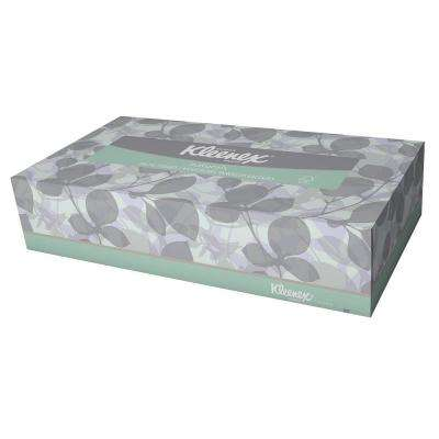 8.40 in. x 8.40 in. Facial Tissue (125-Sheets per Box)