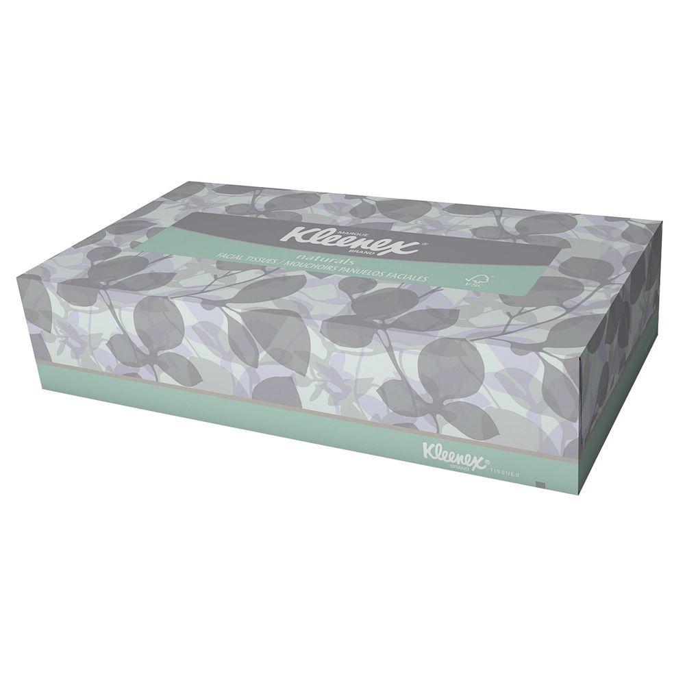 8.40 in. x 8.40 in. Facial Tissue (125-Sheets per Box)