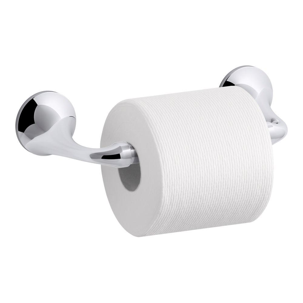 Bathroom Paper Amusing Kohler Elliston Pivoting Double Post Toilet Paper Holder In . Inspiration