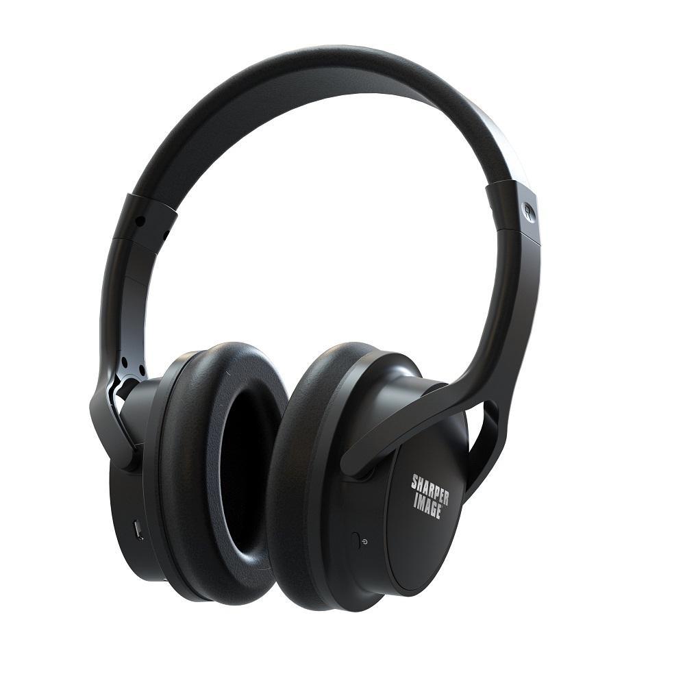 Wireless TV Headphones in Black