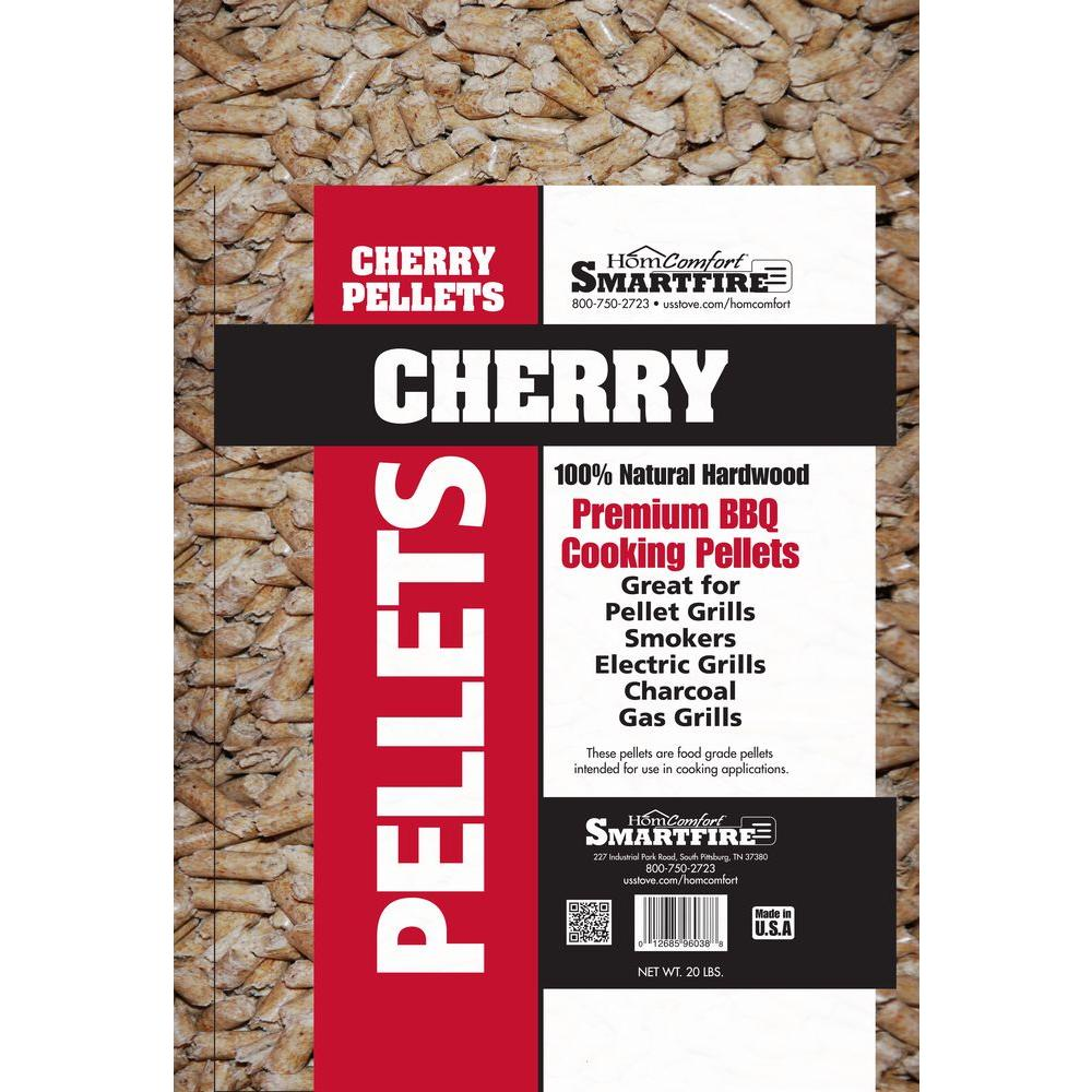 Homcomfort Cherry Wood Pellets For Use In Pellet Grills