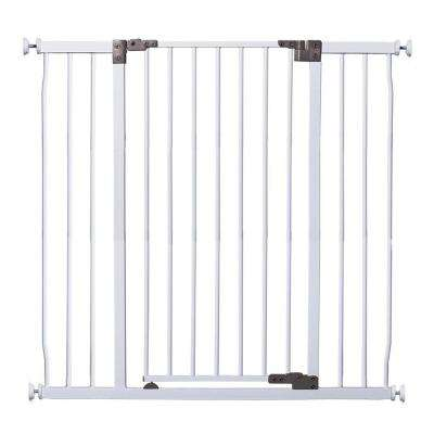 36.5 in. H Liberty Extra Tall and Wide with Stay Open Feature Auto Close Security Gate