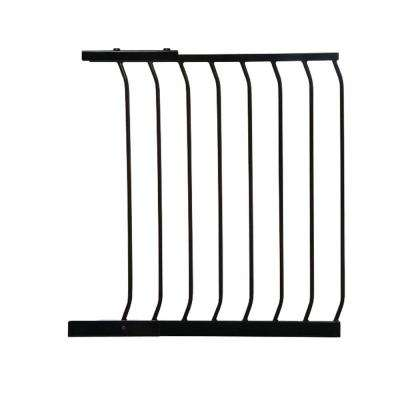 24.5 in. Gate Extension for Black Chelsea Standard Height Child Safety Gate