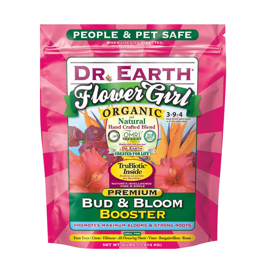 4 lb. Flower Girl Bud and Bloom Booster Dry Fertilizer