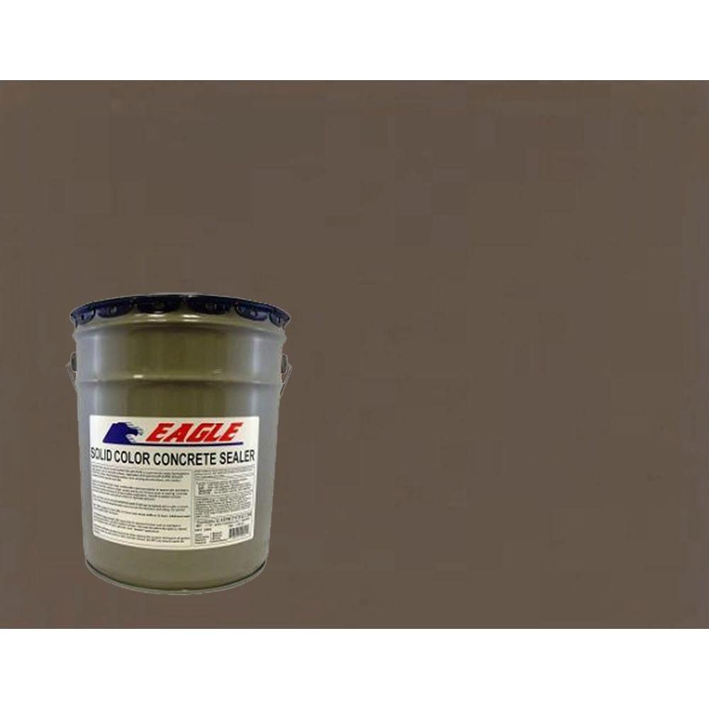 5 gal. Charred Walnut Solid Color Solvent Based Concrete Sealer