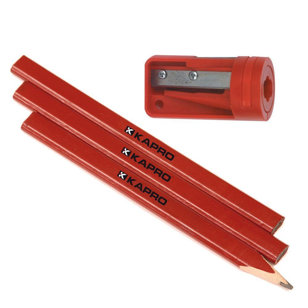 Sharpener and 3 Pencil Set