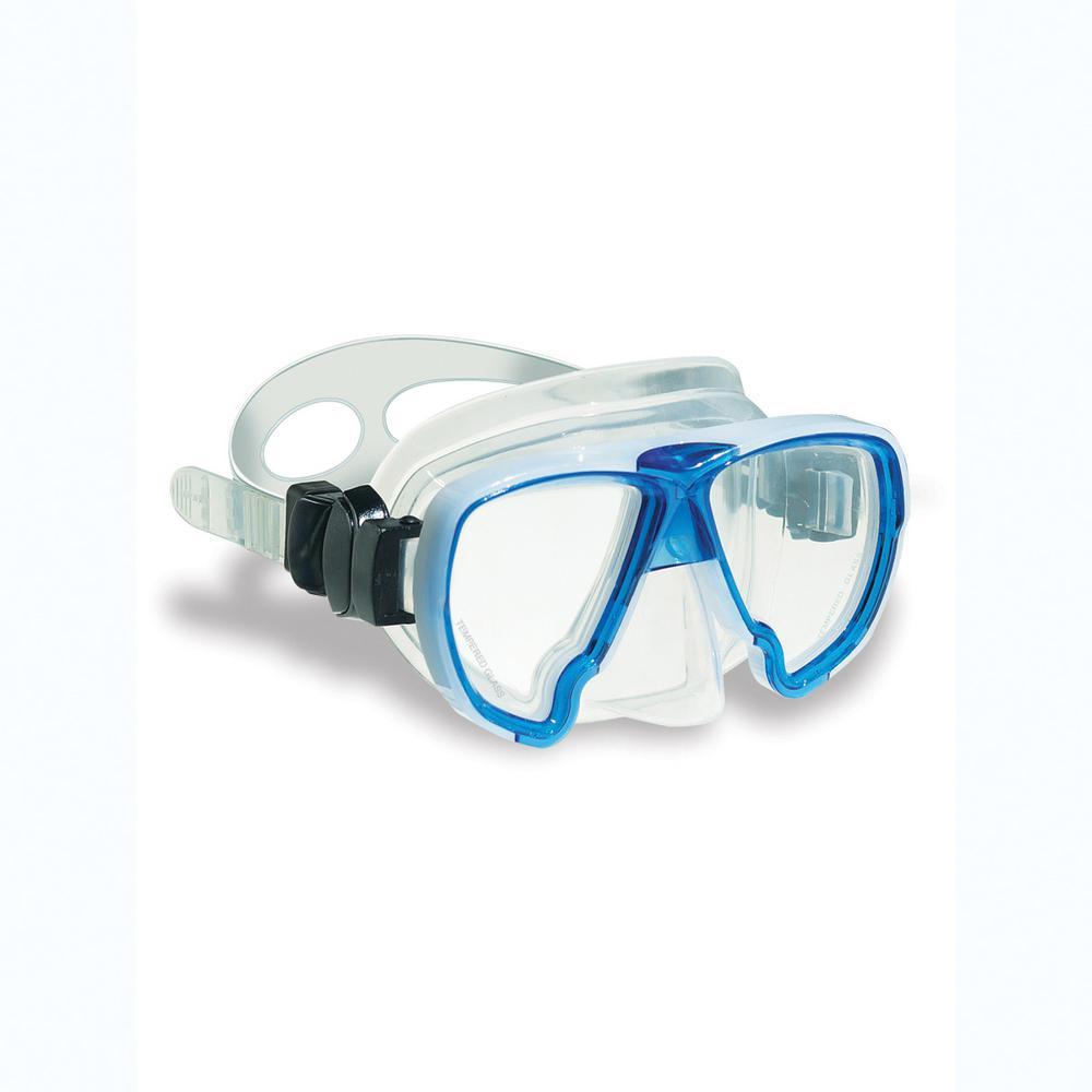 DiveSite SeaQuest Blue Full Size Dive Mask