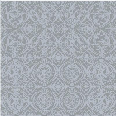 Debut Collection Rosettes in Grey Premium Matte Wallpaper