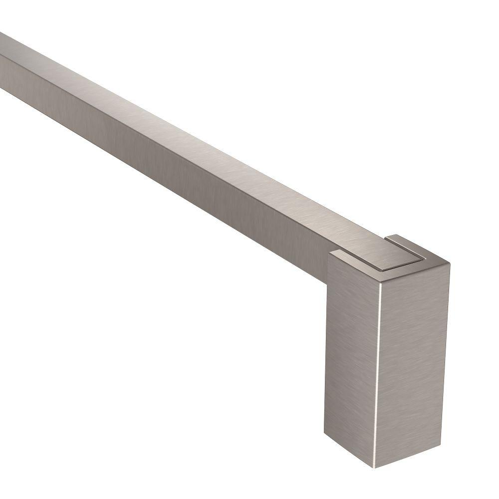 MOEN Kyvos 24 in. Towel Bar in Brushed Nickel