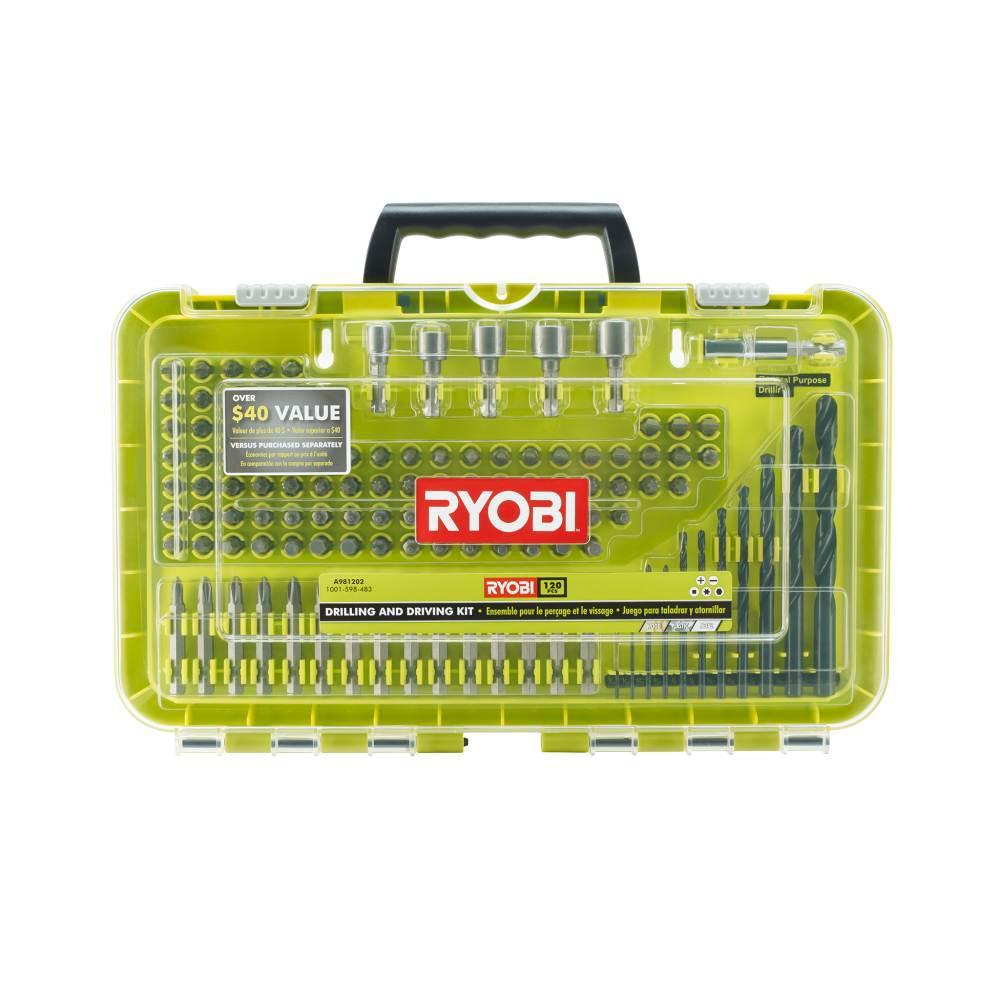 RYOBI Drilling and Driving Kit (120-Piece)