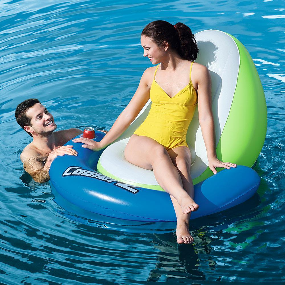 Bestway Sit-In-Sun Floating Lounger for Swimming Pools