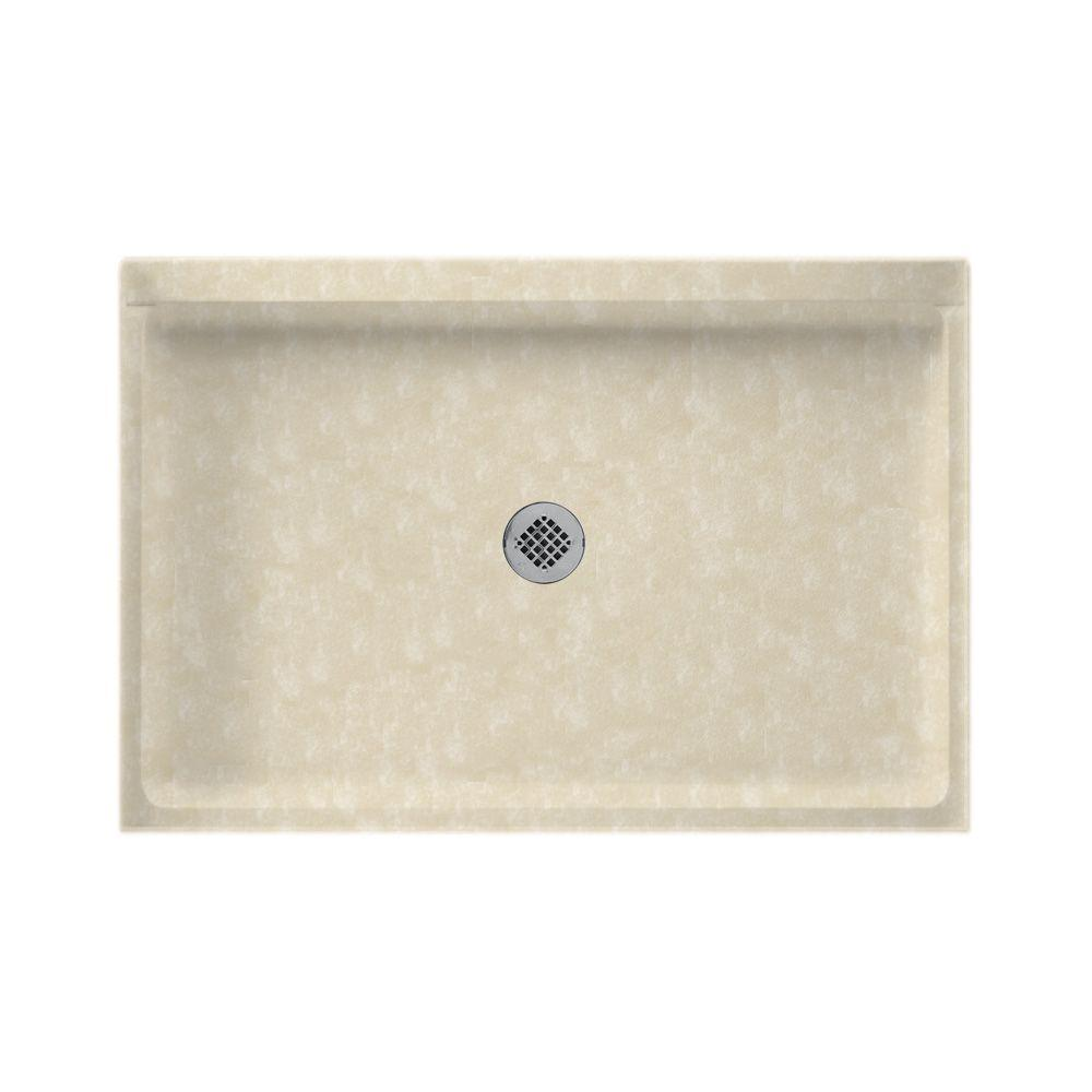32 in. x 48 in. Fiberglass Single Threshold Shower Floor in