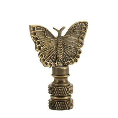 Mini Butterfly Lamp Finial