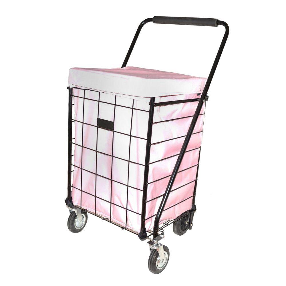 Deluxe Pink Jumbo Hooded Carrier Liner