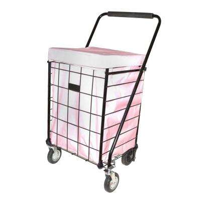 Deluxe Pink Jumbo Hooded Carrier Liner
