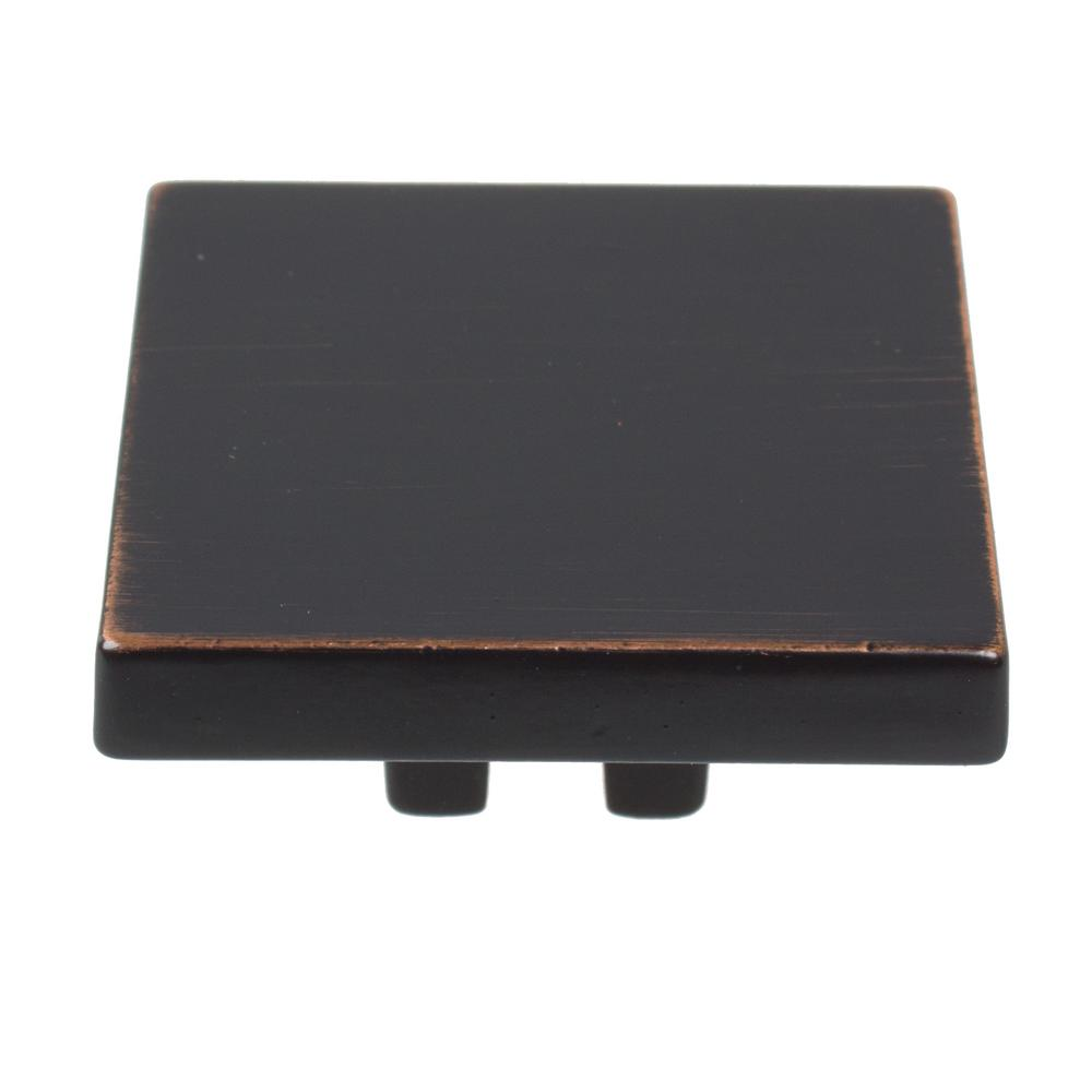 Oil Rubbed Bronze Thin Square Cabinet 10 Pack