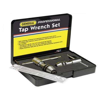Reversible Tap Wrench Set 3-Piece