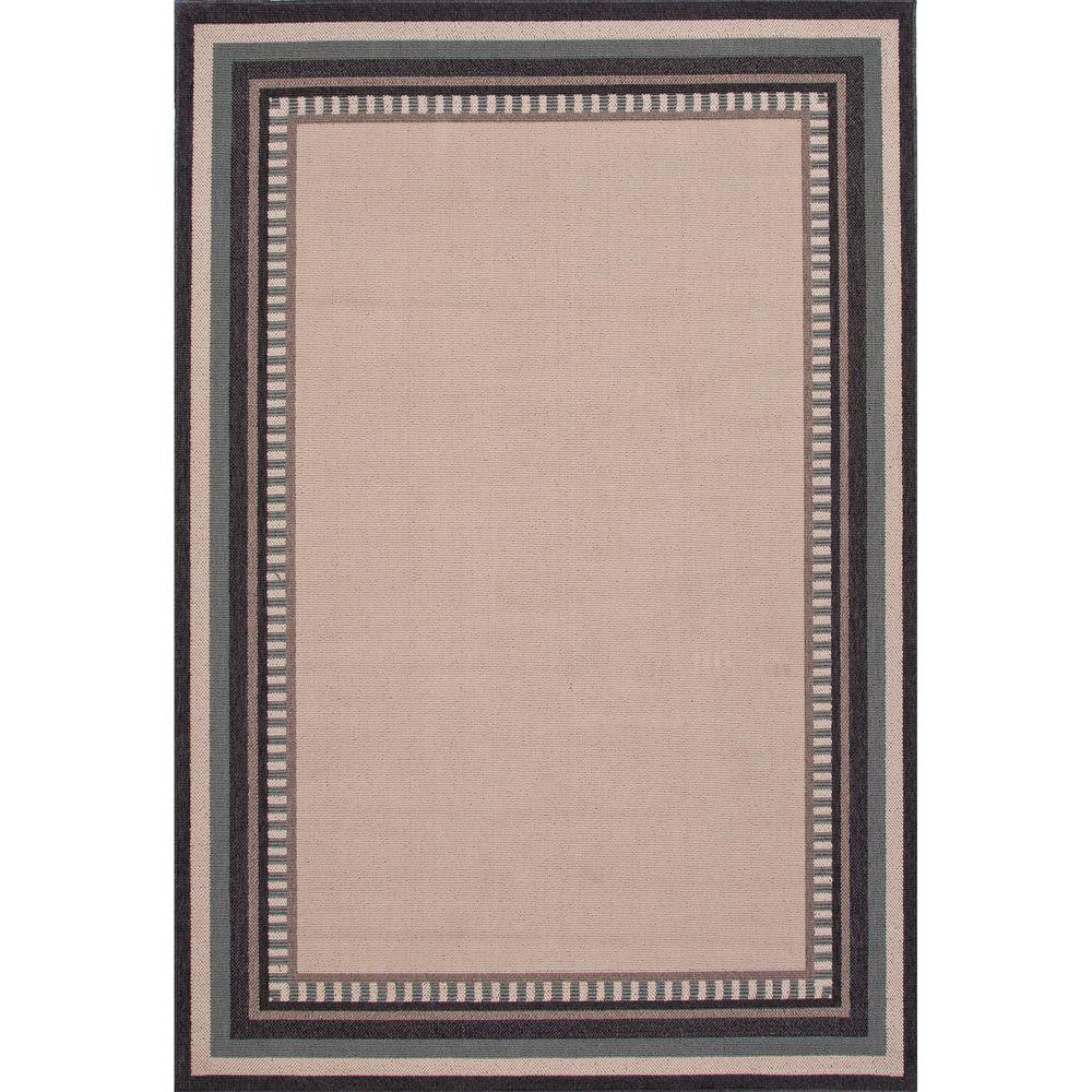 Home Decorators Collection Hand Made Birch 8 Ft. X 10 Ft. Border Area Rug