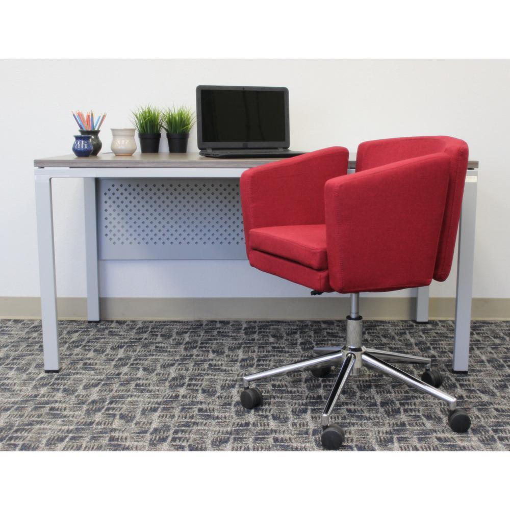 Boss Marsala Red Metro Club Desk Chair B416C-MR