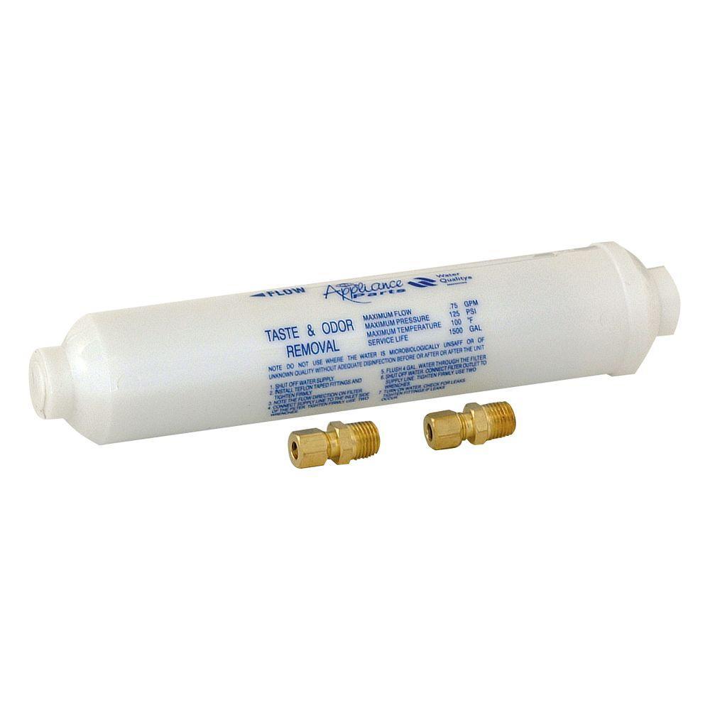 10 in. Taste and Odor Inline Water Filter