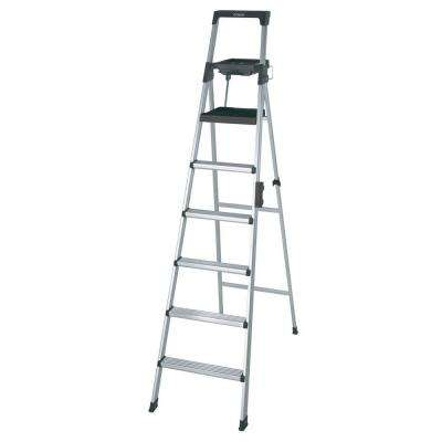 Signature Series 8 ft. Premium Aluminum Step Ladder