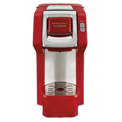 1-Cup Red FlexBrew Coffee Maker
