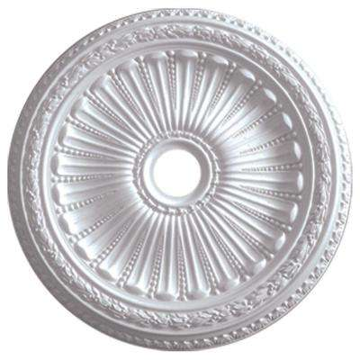 35-1/8 in. x 4-7/8 in. ID x 2-1/2 in. Viceroy Urethane Ceiling Medallion (Fits Canopies up to 4-7/8 in.)