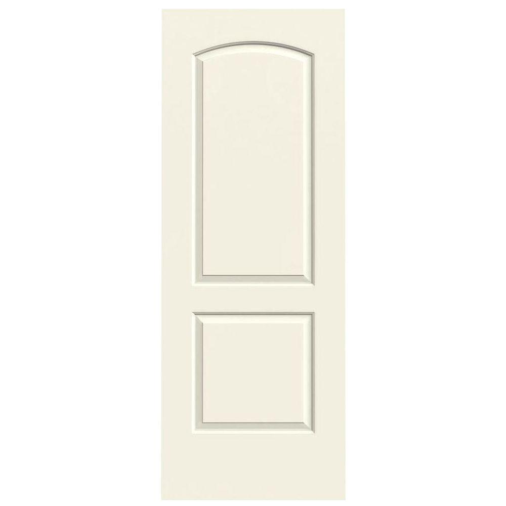 Jeld Wen 32 In X 80 In Continental Vanilla Painted