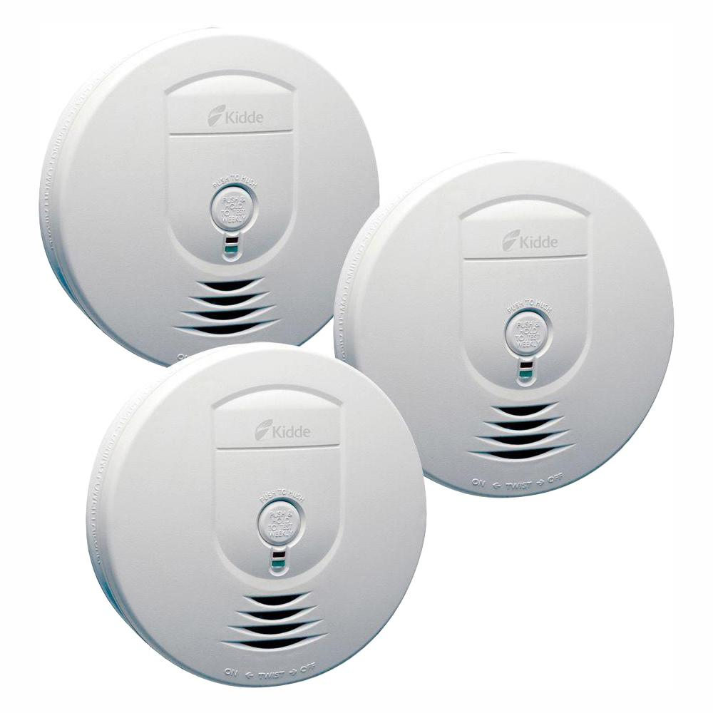 Kidde Battery Operated Smoke Detector With Wire Free Interconnect