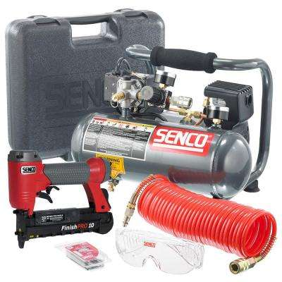 FinishPro Kit PC1010 1/2HP 1 Gal. Compressor with 23-Gauge Finish Nailer