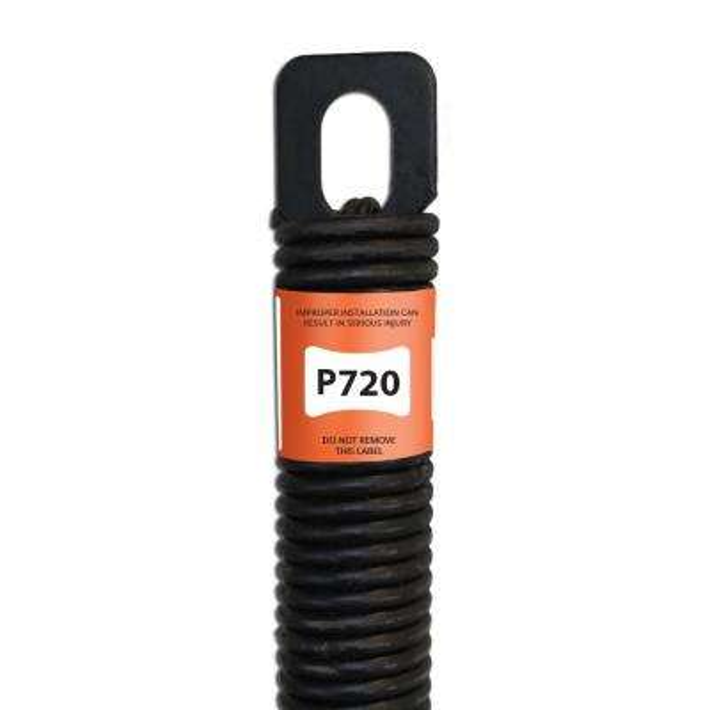 20 in. Plug-End Garage Door Spring (0.177 in. #7 Wire)