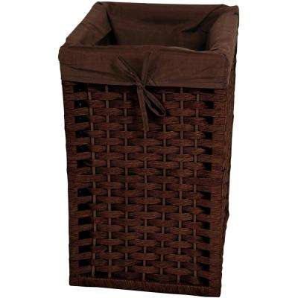 Mocha Natural Fiber Basket Trunk