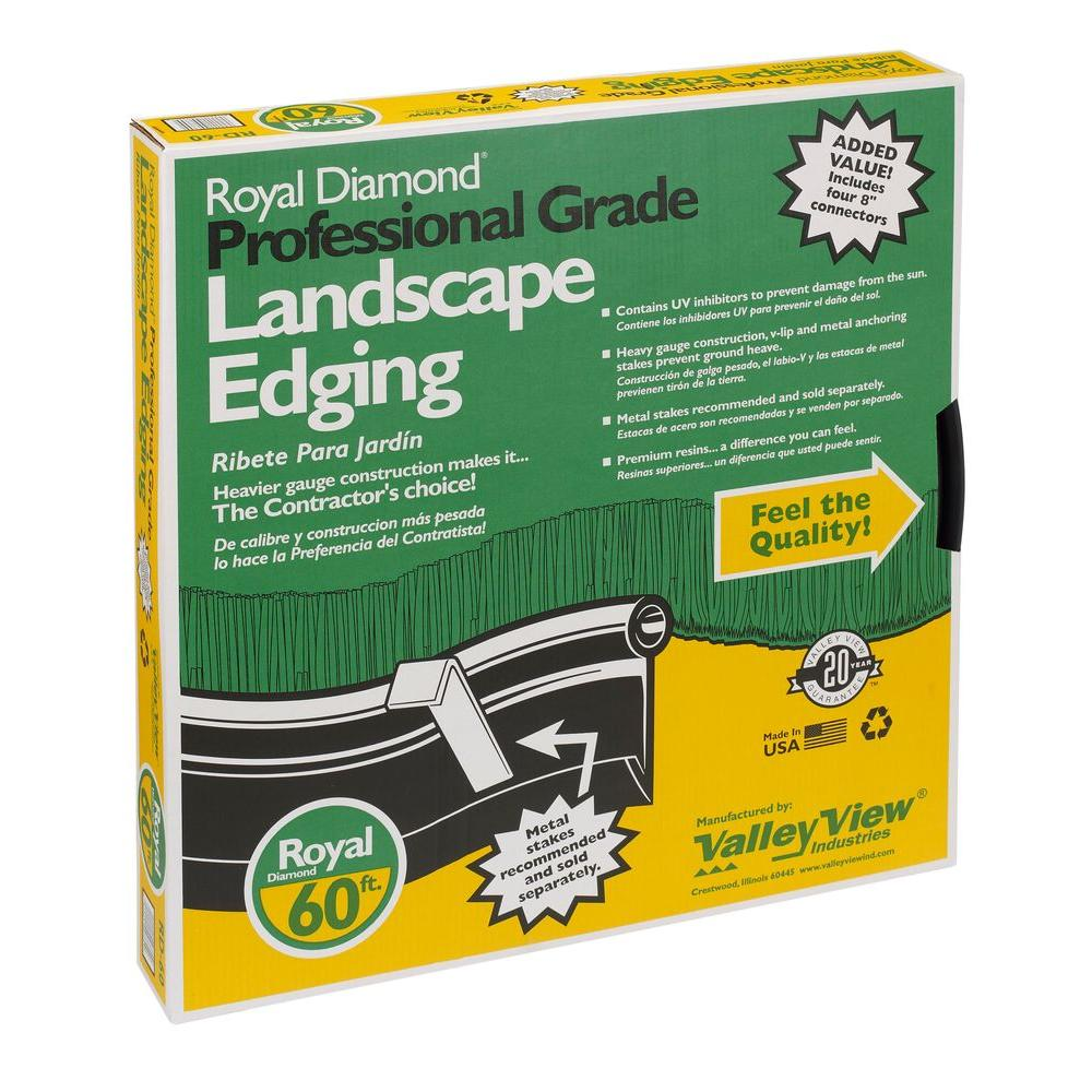 Landscape edging amazon dimex easyflex plastic no dig for 60 ft garden design