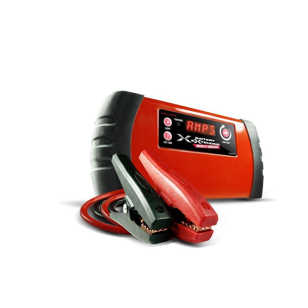 Battery Extender 12-Volt, 1,200 mAh lithium jump starter