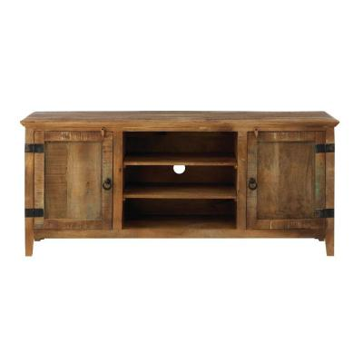 30 in. H x 69 in. W Holbrook Natural Reclaimed Storage Entertainment Center
