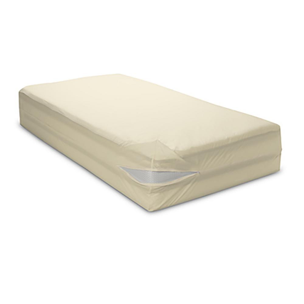Organic All-Cotton 12 in. Deep Mattress Encasing