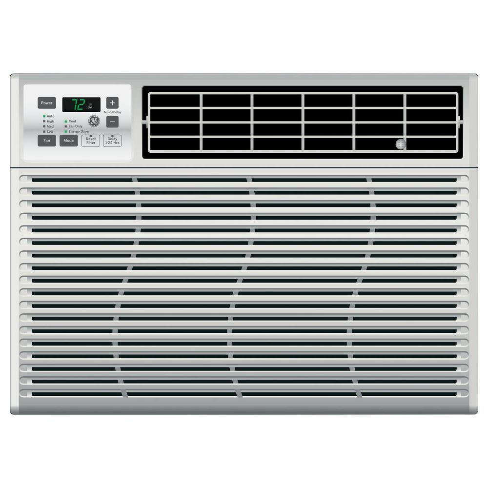 ge energy star 24 000 btu 230 volt electronic room window air conditioner ael24dv the home depot. Black Bedroom Furniture Sets. Home Design Ideas