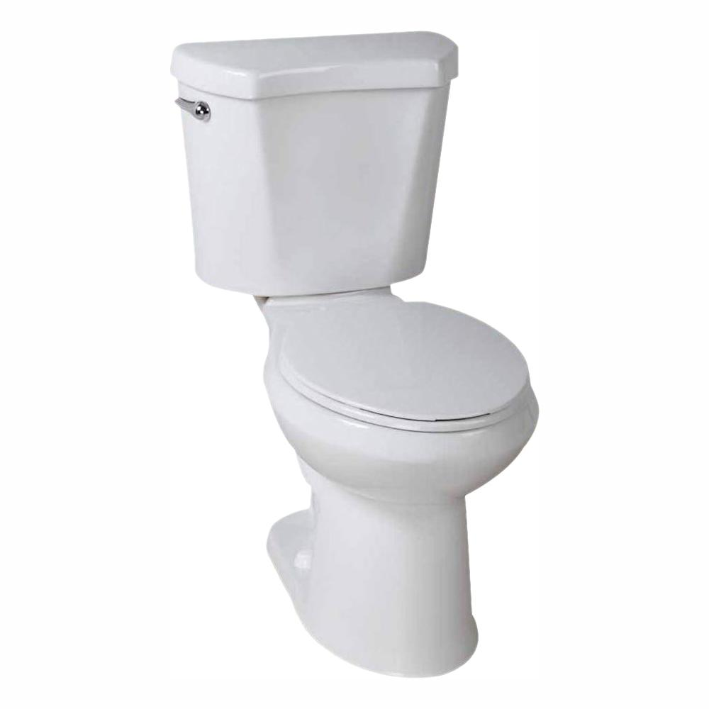 Fantastic Glacier Bay 2 Piece 1 28 Gpf High Efficiency Single Flush Elongated Toilet In White Spiritservingveterans Wood Chair Design Ideas Spiritservingveteransorg