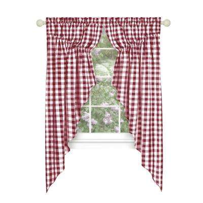Red Light Filtering Curtains