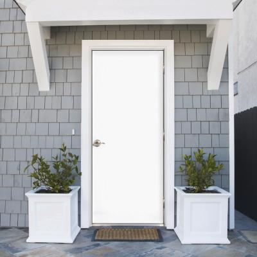 Premium Flush Primed Steel Prehung Front Door